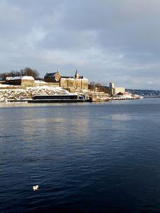Free Akershus Fortress, Oslo Royalty Free Stock Photo - 1335535