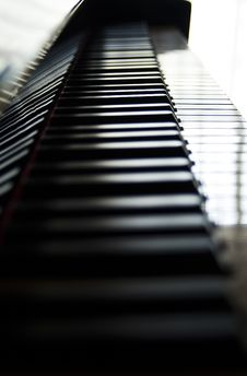 Free Piano Keys Trail Stock Photos - 1336683
