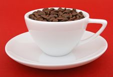 Free Coffee Beans - Stimulant Drug For Home And Office Royalty Free Stock Image - 1336776