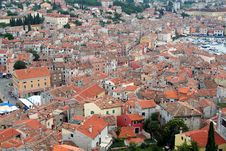 Free Old City. View From Above 8 Royalty Free Stock Image - 1336896