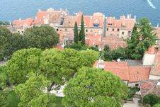 Free Old City. View From Above 6 Stock Image - 1336981