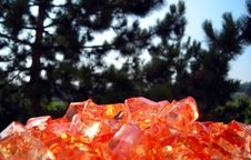 Free Orange Stones Royalty Free Stock Image - 1337076