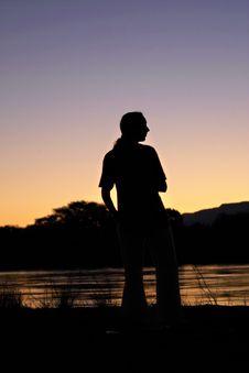 Free Zambezi River View Stock Photography - 1337162