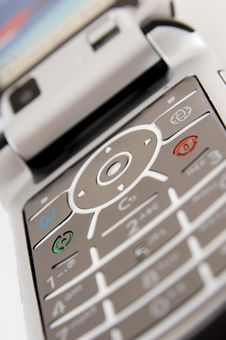 Free Mobile Phone Keypad Stock Image - 1337451