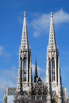 Free Votiv Church, Vienna Stock Photos - 1337533
