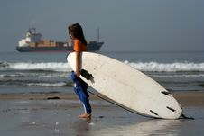 Free Little Surfer Stock Photos - 1337693