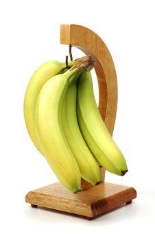 Free Bunch Of Bananas Stock Photography - 1337842