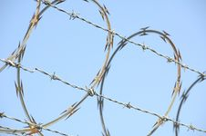 Free Razor Wire 1 Royalty Free Stock Images - 1338559