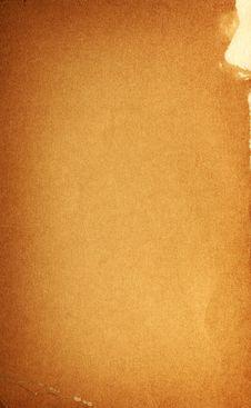 Vintage Scrap Paper Stock Image