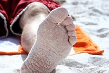 Free Sandy Toes Stock Photo - 1339100