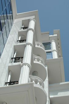 Free Balconies Royalty Free Stock Image - 1339276