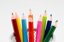 Free Colored Pencils Royalty Free Stock Image - 1339526