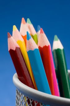 Free Colored Pencils 4 Stock Images - 1339564