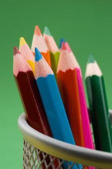 Free Colored Pencils 6 Stock Image - 1339581