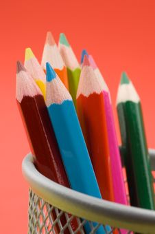 Free Colored Pencils 7 Royalty Free Stock Image - 1339586