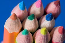 Free Colored Pencils 9 Stock Photos - 1339613