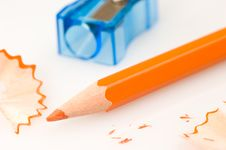 Free Colored Pencils Royalty Free Stock Photography - 1339627