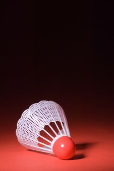 Free Shuttlecock And Badminton 5 Royalty Free Stock Image - 1339866