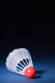Free Shuttlecock And Badminton 6 Stock Photos - 1339893