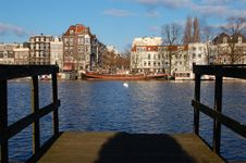 Free Amsterdam Canal Houses Stock Images - 13305234