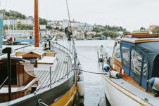 Free Two Boat Docked Stock Photography - 133049592