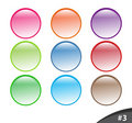 Free Shiny Website Buttons, Part 3 Stock Image - 13315951