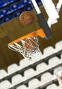 Free Ball In Hoop Royalty Free Stock Photo - 13325345