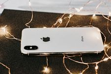 Free Close-Up Photo Of IPhone Near String Lights Stock Photography - 133252812