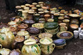 Free A Lot Of Pots For Sale Stock Photos - 13346133