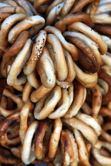 Free Pretzels For Sale Stock Image - 13346151
