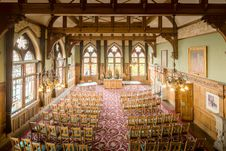 Free Function Hall, Chapel, Aisle, Ballroom Stock Photo - 133462930