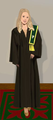 Free Academic Dress, Clothing, Robe, Outerwear Royalty Free Stock Photography - 133463457