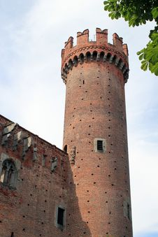 Free Red Castle Tower Stock Photography - 133489572
