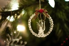 Free Silver Cherub Hanging Decor Royalty Free Stock Photography - 133489647