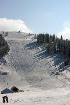 Free Ski Place In Romania Stock Photo - 13372900