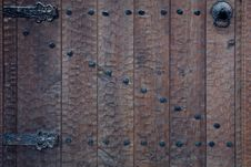 Free Old Wooden Door Royalty Free Stock Images - 13377229