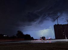 Free Lightning Strikes On Ground Stock Images - 133729224