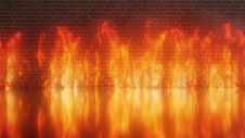 Free Orange, Heat, Flame, Geological Phenomenon Stock Images - 133773294