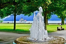 Free Water, Fountain, Water Feature, Tree Stock Photo - 133773930
