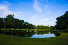 Free Lake Garden Stock Image - 13385491