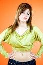 Free Sensual Teenager Stock Images - 1342314