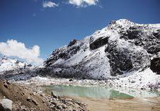 Free Mountain Lake In The Cordilleras Royalty Free Stock Image - 1340806