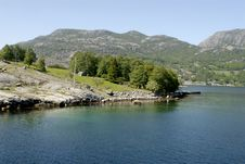 Free Lysefjord Royalty Free Stock Photo - 1340925