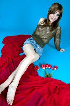 Sensual Dreamer Stock Photos