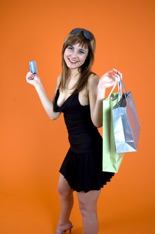 Free Shopping Craze Stock Photo - 1341970
