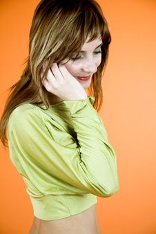 Free Girl On The Phone Stock Photo - 1342410