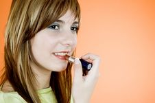 Free Time For Make-up 2 Stock Photo - 1342540