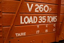 Free Load 35 Tons Stock Photo - 1342600