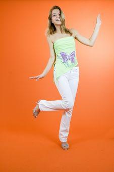 Free Funny Dance Stock Photos - 1342683