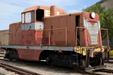 Free Derelict Train Stock Images - 1342704
